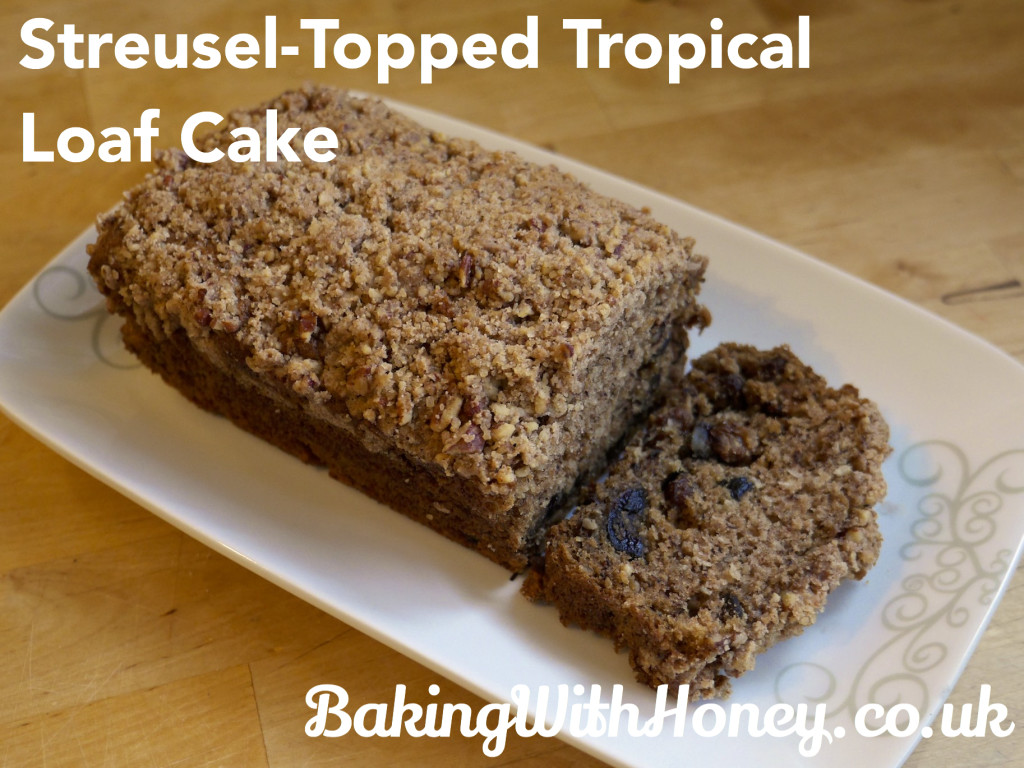 Streusel-Topped Tropical Loaf Cake