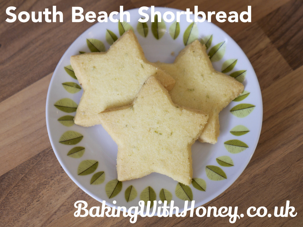 South Beach Key Lime Shortbread Vegan Cookies