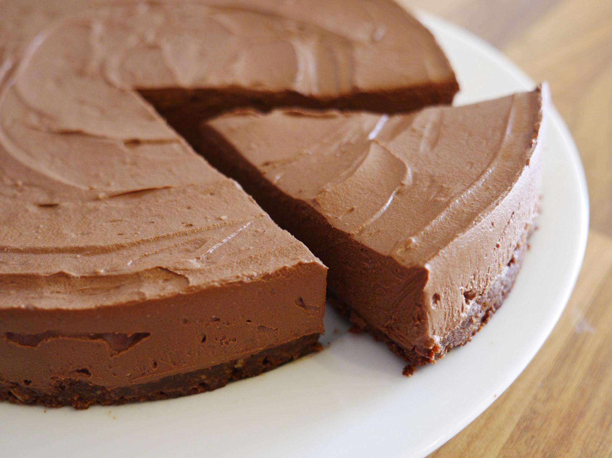 Dreamy Chocolate Cheesecake (Vegan)