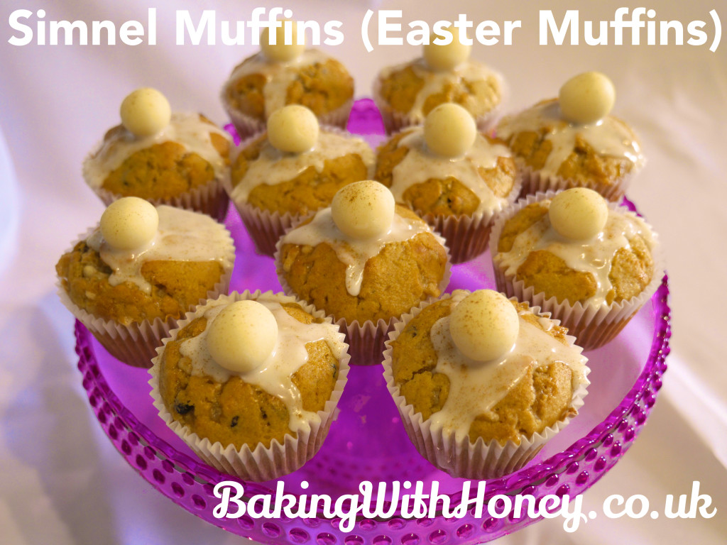 Simnel Muffins (Easter Muffins)