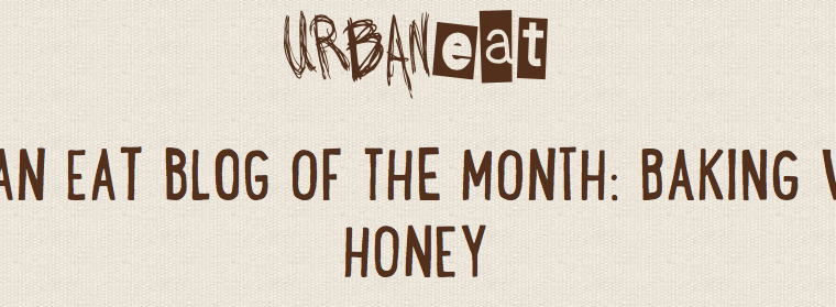 URBAN eat Blog Of The Month!