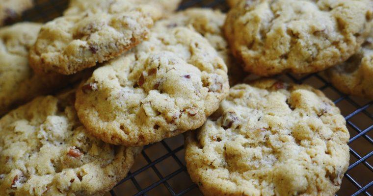 Summer Holidays Week 4: Pecan Cookies