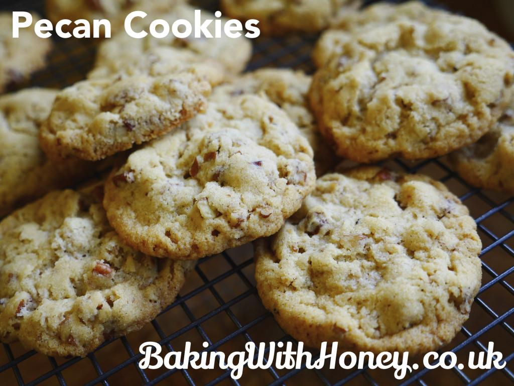 Pecan Cookies Egg Free Eggless Vegan