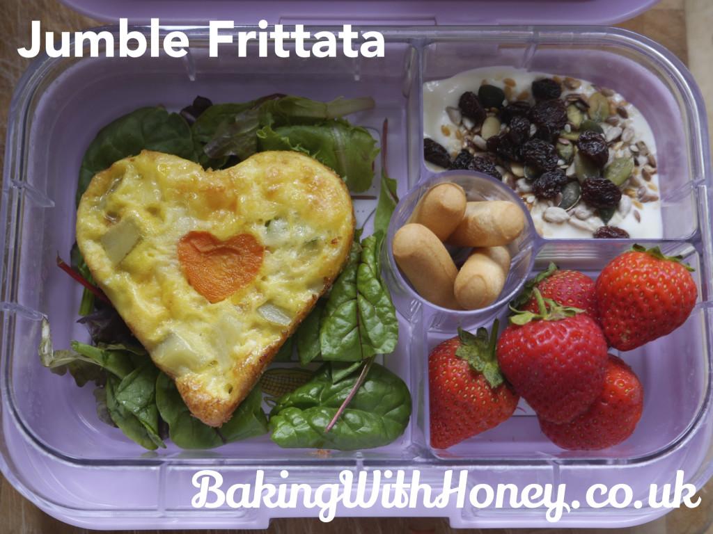 Jumble Frittata Lunchbox