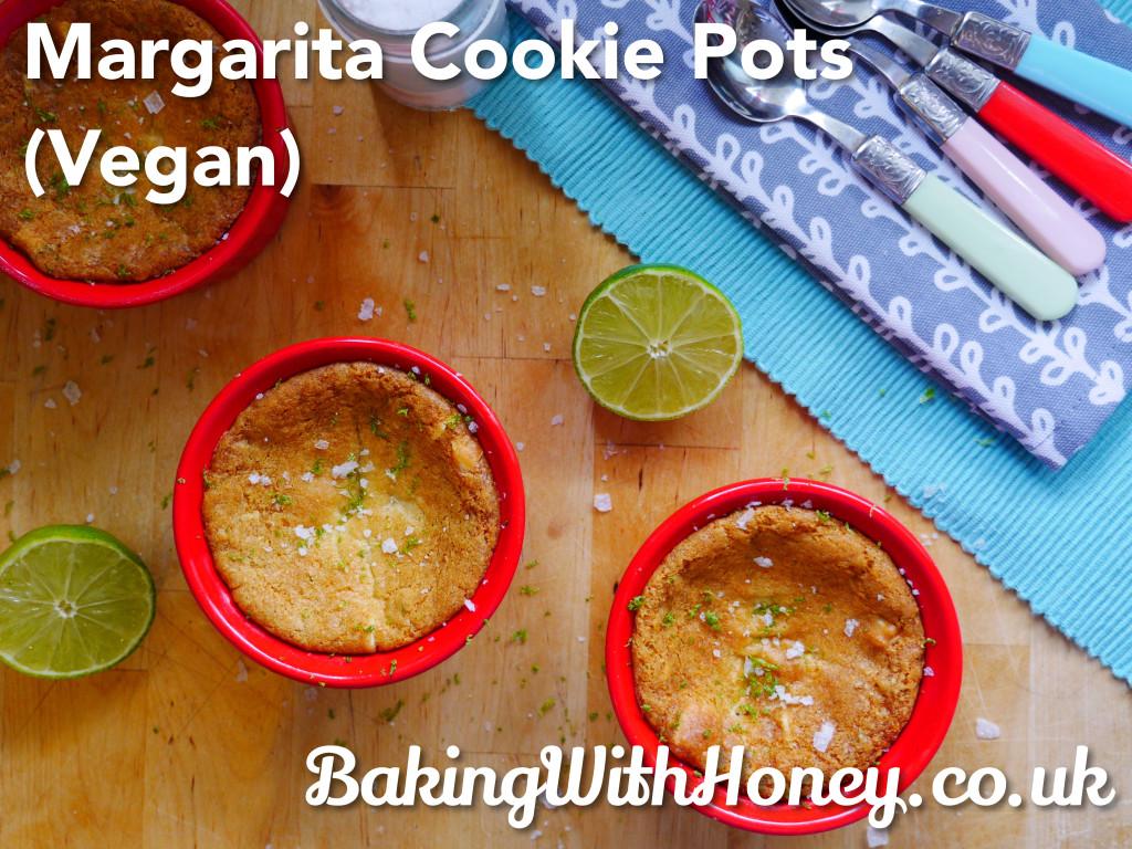Squidgy Margarita Cookie Pots (Vegan)