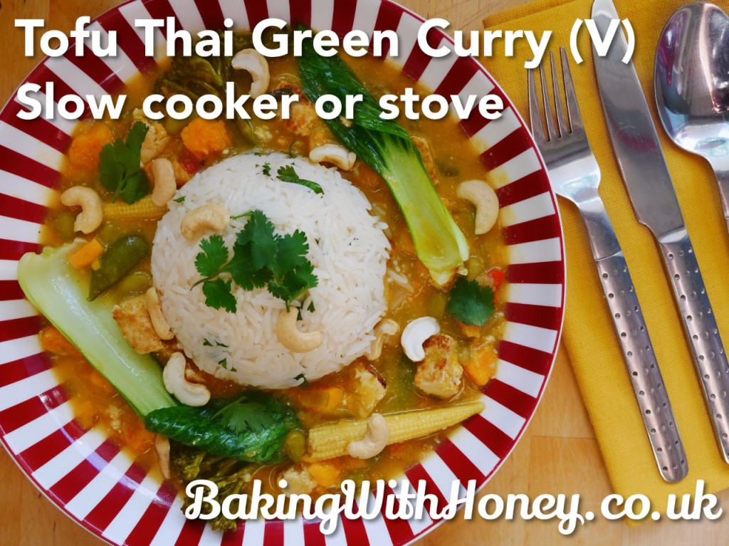 Tofu Thai Curry Vegan Vegetarian