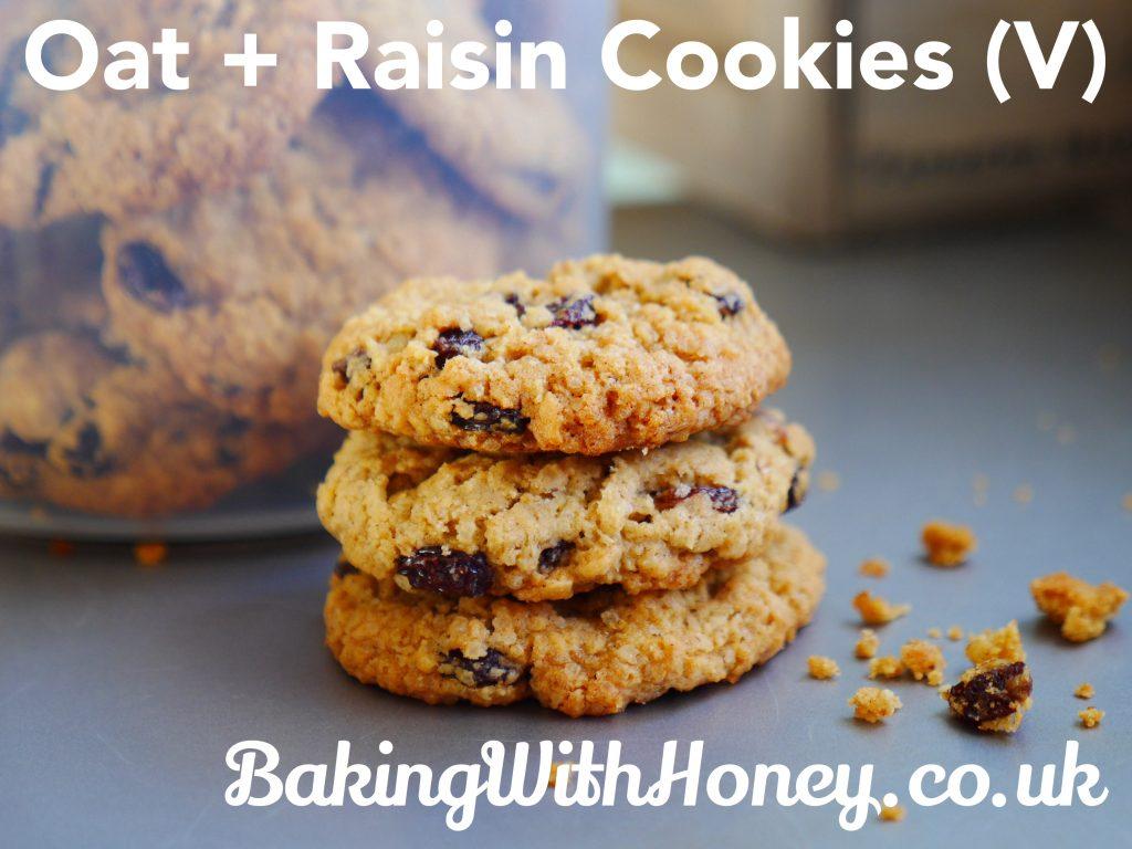 Oat and Raisin Cookies Vegan