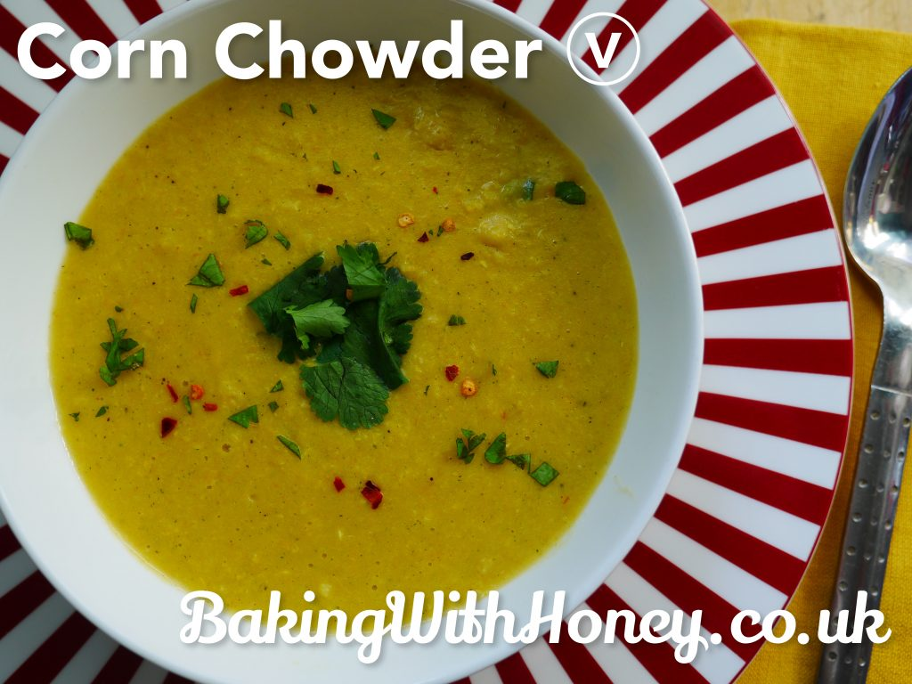 Corn Chowder Vegan Vegetarian