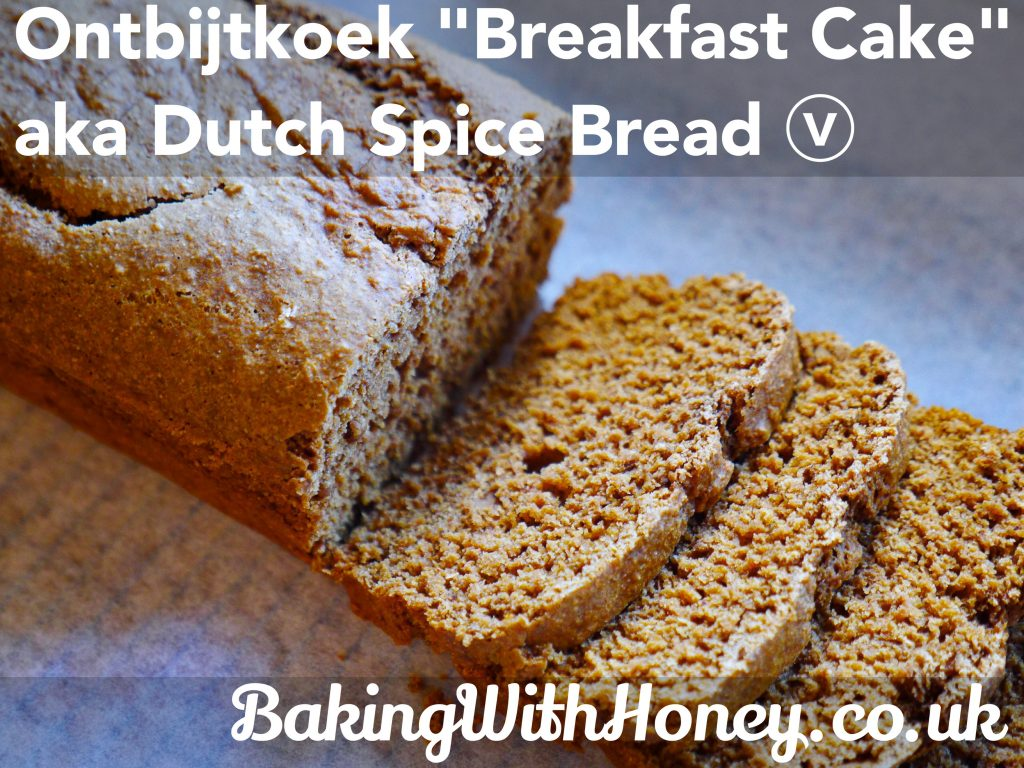 ontbijtkoek vegan dutch spice breakfast cake bread