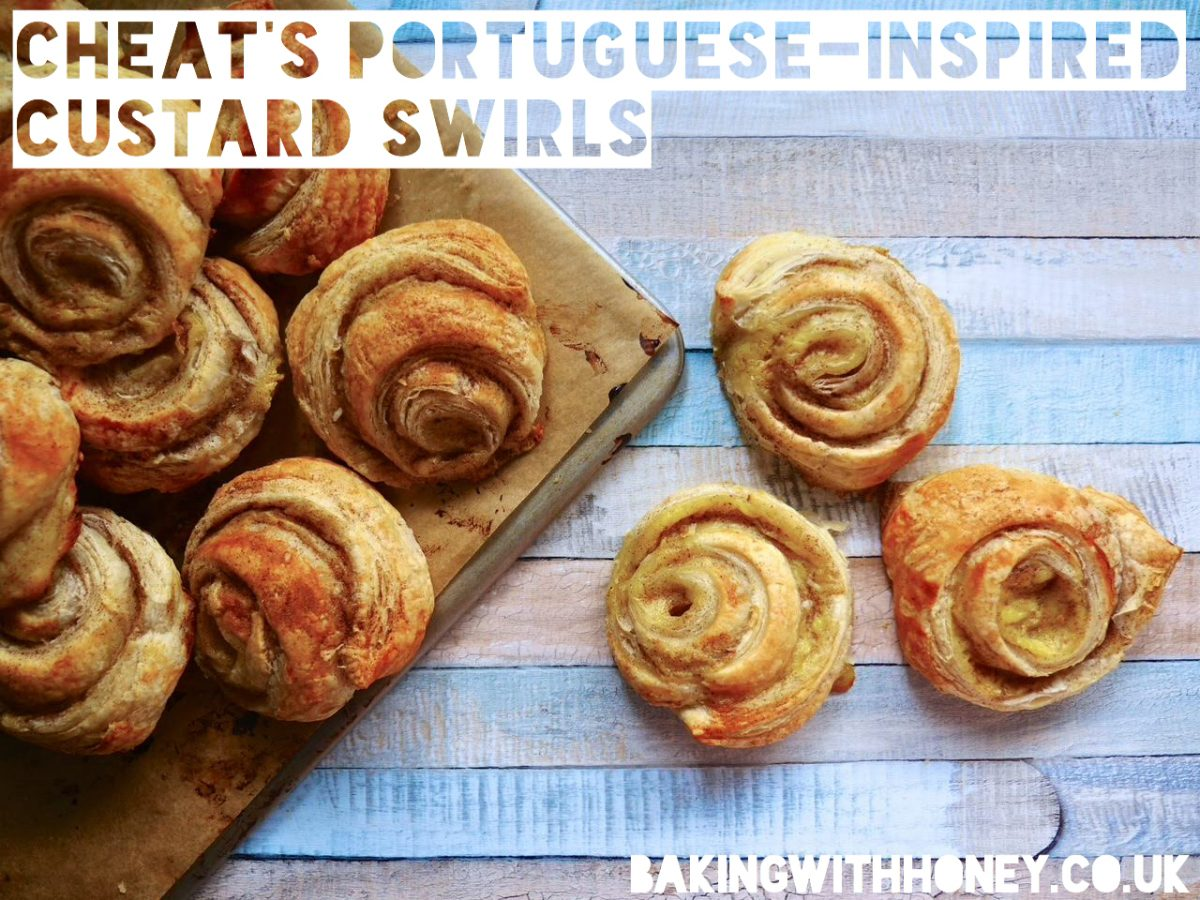 Vegan Portuguese Custard Swirls (Not Tarts!)