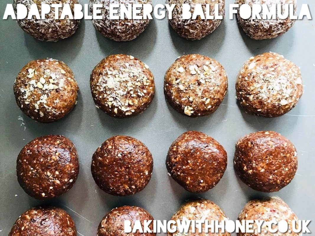 Vegan energy ball recipe
