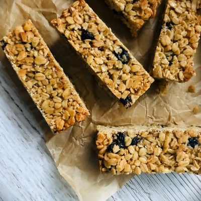 Vegan Christmas Flapjacks