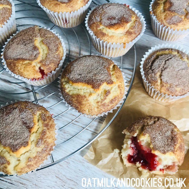Vegan Snickerdoodle Donut Muffins